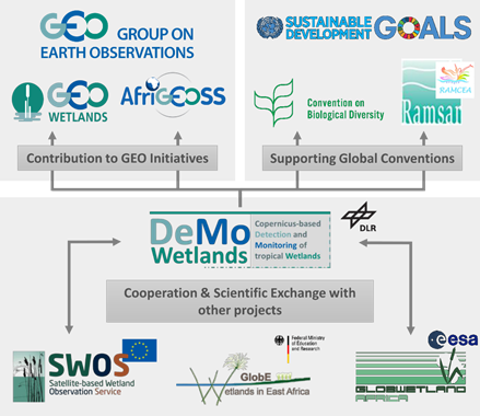DeMo Wetlands project cooperation